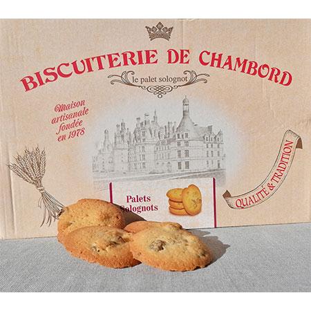 Palets Solognots, Sablés de Nançay, Praslines Mazet, biscuit Mistral
