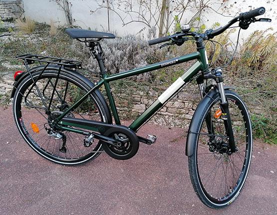 location des vélos Briare VTC et VAE à la demi journée et à la journée.