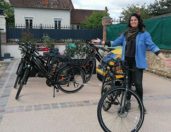 La maison du Pont Canal Briare Location vélo